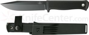 Fallkniven S1blz Forest Knife 5.1 inch VG10 Black Blade, Zytel Sheath