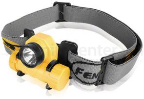 Fenix HL21 Variable Output LED Mini Headlamp, Yellow, 97 Max Lumens
