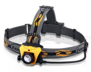 Fenix HP01 LED Headlamp, Orange, 210 Max Lumens