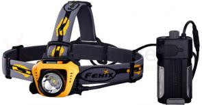 Fenix HP30 LED Headlamp, Yellow, 900 Max Lumens