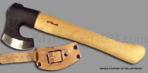 Kellam Knives Finnish Wild Short Hiking Axe Hand Forged Carbon Steel 14 inch Overall