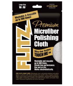 Flitz MC 200 Microfiber Polishing Cloth 16 inch x 16 inch