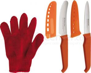 Furi Rachael Ray Young Cook's Cutting Set with 4 inch Serrated and Paring Knives
