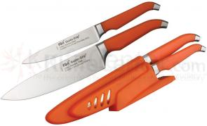Furi Rachael Ray Gusto-Grip Dual Sharp and Store Chef and Utility Knife Set