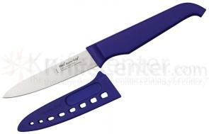 Furi Rachael Ray Gusto-Grip Basics Line 4 inch Paring Knife with Blade Guard, Dark Blue