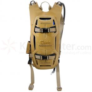 GEIGERRIG Tactical Guardian Hydration Pack, Coyote (G5GUARDIANTACCY)