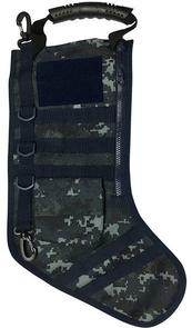 GenPro RuckUp Navy Blue Tactical Christmas Stocking with MOLLE Attachment