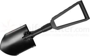 Gerber Entrenching Tool Folding Spade with Pick and Serrated Edge, GFN Handle