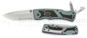 Gerber Slate Folding Knife with Implements FAST 3 inch Assisted Combo Edge Blade