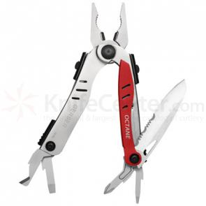 Gerber Octane Multi-Tool 4 inch Closed, Red