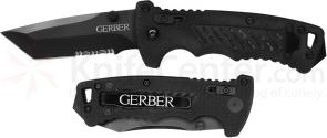 Gerber DMF Manual Folding Knife 3.5 inch Tanto Combo Blade, G10 Handles (31-000583)
