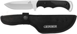 Gerber Freeman Guide Fixed Hunting Knife 4 inch Plain Blade, TacHide Handle