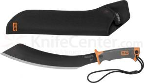Gerber 31-000698 Bear Grylls Parang Machete 13.5 inch Carbon Steel Blade, Nylon Sheath