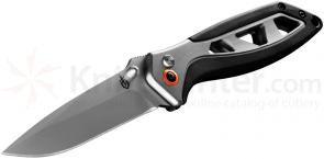 Gerber Outrigger Assisted Opening Folder 3 inch Satin Plain Blade, Aluminum Handles