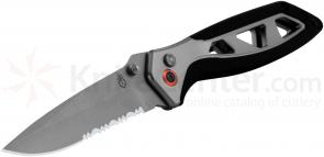 Gerber Outrigger Assisted Opening Folder 3 inch Satin Combo Blade, Aluminum Handles