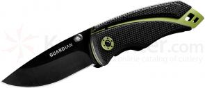 Gerber Guardian 31-001402 K3 3 inch Assisted Opening Tactical Clip Point Folder, G10 Handles
