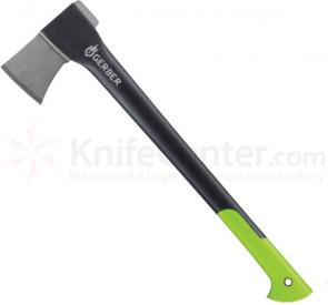 Gerber Freescape XL Axe II 3.5 inch Forged Steel Head, Nylon Handle, 23.6 inch Overall
