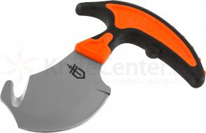 Gerber Vital Skinner and Guthook 2.6 inch 7Cr13 Satin Blade, Orange Rubberized Handle