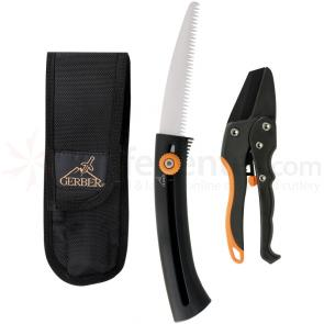 Gerber Deluxe Hunter's Pruning Kit - Sports Saw and Ratcheting Pruner