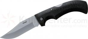 Gerber Gator Folding Knife 3.75 inch Clip Point Plain Blade, Gator Grip Handle