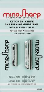 Global 463 MinoSharp Knife Sharpening Guide Rail with Plastic Liners
