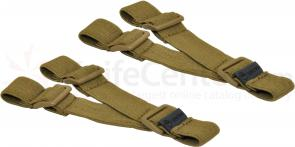 Hazard 4 Delta Elastic Strap Set of 2, Coyote