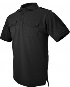 Hazard 4 LEO Uniform Replacement Battle Polo, Black, Large