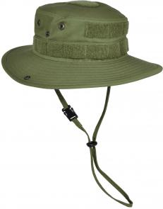 Hazard 4 SunTac Cotton Boonie Hat with MOLLE, OD Green, Regular 7.25 inch