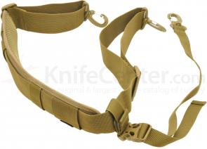 Hazard 4 Deluxe Shoulder Strap with Stabilizer, MOLLE Capable, Coyote