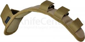 Hazard 4 Deluxe Shoulder Strap Pad with MOLLE, Coyote