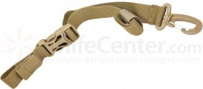 Hazard 4 Stabilizer Strap 1 inch for Slings and Messengers, Coyote