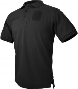Hazard 4 Loaded I.D. Centric Battle Polo, Black, Medium