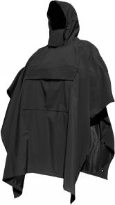 Hazard 4 Poncho Technical Soft-Shell Poncho, Black