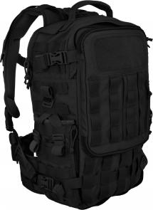 Hazard 4 Second Front Rotatable Backpack, Black
