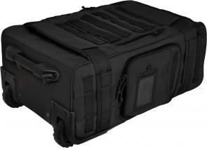 Hazard 4 Air Support Rugged Rolling Carry-On Luggage, Black