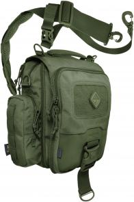 Hazard 4 Kato Tablet and Netbook Mini-Messenger Bag, OD Green