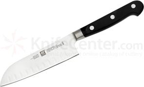 Zwilling J.A. Henckels TWIN Pro 'S' 5 inch Santoku Knife, Hollow Edge