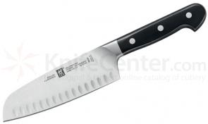 Zwilling J.A. Henckels Pro 5.5 inch Hollow Edge Santoku Knife