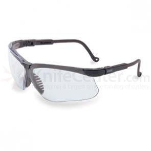 Howard Leight Genesis Eye Protection, Black Frame, Clear Lens