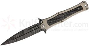HTM Knives Darrel Ralph DDR Madd MAXX Assisted 5.5 inch Damascus Blade, Titanium & Carbon Fiber Handles