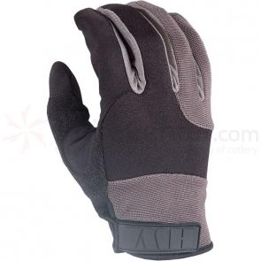 HWI DGS500 Synthetic Leather Duty Glove, Level 5 Liner, Black/Gray, XLG