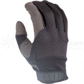 HWI KPD100 Kevlar Palm Cut-Resistant Duty Glove, Black/Gray, SM
