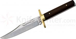 IXL Wostenholm Logo Bowie Knife 6 inch Carbon Steel Blade, Rosewood Handles, No Sheath