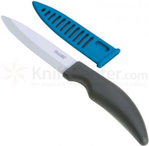 Jaccard Advanced Ceramic Utility Knife 4 inch Blade, Sheath
