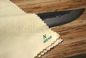 Kanetsune Northman Birdy Chamois Polishing Cloth