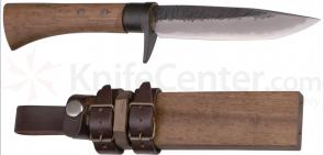 Kanetsune Akatsuki Fixed w/4.93 inch White Steel Blade, Oak Handle