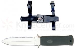 Katz Avenger Dive Knife With Double Edged Blade Dive Sheath
