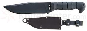 KA-BAR 12-5/8 inch Short-Heavy Bowie with Leather/Cordura Sheath