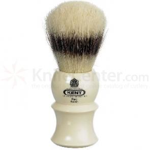 Kent White Socket, Pure Bristle (Badger Effect) Shave Brush