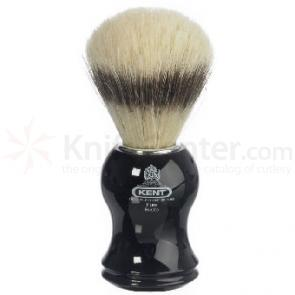Kent Black Socket, Pure Bristle (Badger Effect) Shave Brush